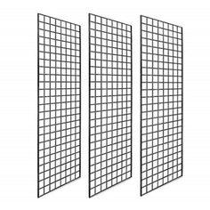 Wire Grid Wall, Wire Grid Panels, Retail Wall Displays, Craft Displays, Shop Displays, Merchandising Displays, Metal Grid, Wall Accessories, Slat Wall