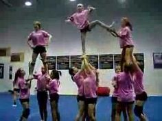 Cheerleading- Transitional Stunts