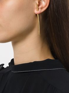 Shaun Leane large Quill earring