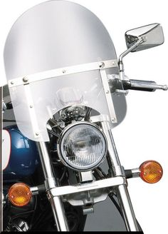 "INDIAN CHIEF SLIPSTREAMER HD-0 WINDSHIELD CLEAR 7/8"" (HD-0-C)"