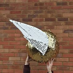Custom made large golden snitch pinata by Pinyatay Golden Snitch, Custom Made, Golden Apple