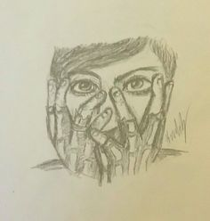 Frank iero mcr fanart this is based of an amazing drawing i saw sadly I do not remember the artist