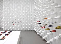 "Camper's new store in NY by Oki Satom, founder of Nendo - ""We created an interior by copying and pasting a single product"" - Oki Sato"