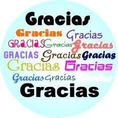 Gracias imagen #5171 - Gracias Gracias Gracias Gracias - Letrero. Imágenes y fotos de 'Gracias' con frases para facebook, whatsapp y twitter.
