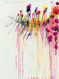 """Coronation of Sesostris"", 2000 de Cy TWOMBLY - Courtesy Pinault Collection  Photo Robert Mc Keever"