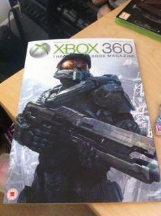 Revistaza con portadaza de Halo 4