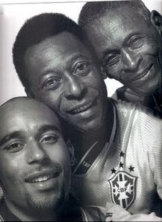 Edinho, Pelé e Dondinho