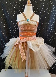 MOANA TUTU by SweetVioletTutu on Etsy