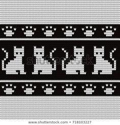 Откройте для себя эту и миллионы других стоковых фотографий, иллюстраций и векторных изображений без лицензионных платежей (роялти) в коллекции Shutterstock. Ежедневно добавляются тысячи новых высококачественных изображений. Knitting Socks, Baby Knitting, Cross Stitch Patterns, Knitting Patterns, Little Cotton Rabbits, Fair Isle Pattern, Charts And Graphs, Simple Cross Stitch, Glasses Case