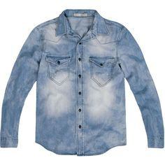 camisa jeans masculina - Google Search