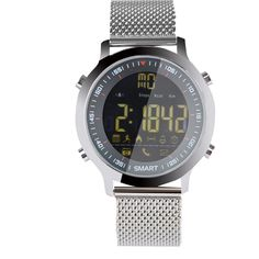Waterproof Sports Watch Pedometer Stopwatch Bluetooth Smart Watches Call Message Reminder Alarm for Android IOS Smartphone. Fashion design,100% Brand New, High quality!. Various social chat messages to remind, such as QQ, Twitter, Facebook, Wechat and Skype. MULTI-FUNCTION: Steps counting, Pedometer, Alarm, Stopwatch, Today's date, Incoming call, Message, Remote camera, BT 4.0, Luminous dial, Social interaction. This Smart Watch with built-in Bluetooth 4.0 which can connect mobile phone…