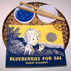 Blueberries for Sal  - transferring. This is a Before Five in a Row book and Caldecott winner.
