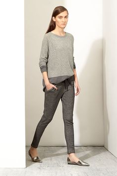 Vince's weekend uniform, grey outfit, loafers #minimalist #fashion #style