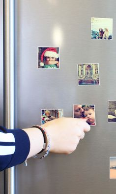 These cute magnets can be printed with photos from your Instagram, camera-roll or desktop. A nice idea for christmas gifts! And they do free delivery worldwide.