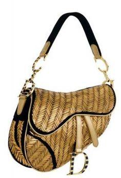 "Limited Edition ""Egypt"" Saddle Bag ~Dior"