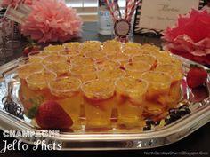 Carolina Charm: Champagne Jello Shots
