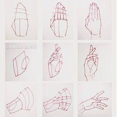 ✔ Drawing Techniques Step By Step Hands Hand Drawing Reference, Art Reference Poses, Drawing Lessons, Drawing Techniques, Drawing Guide, Anime Hand, Drawing Sketches, Art Drawings, Drawing Drawing