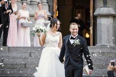   ETUSIVU Body M, Sans Serif, Helsinki, Wedding Portraits, Wedding Photography, Couples, Wedding Dresses, Weddings, Modern