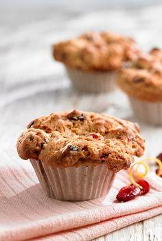 Muffins aux canneberges et à l'orange Plus