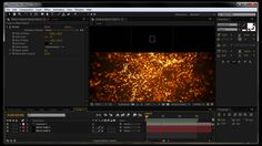 After Effects Tutorial: Fire ember particles