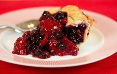 strawberry blackberry pie - HD1600×1012