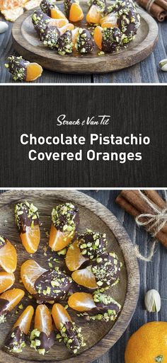 Chocolate covered oranges for date night.