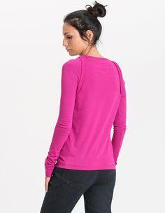 Dora Longsleeves / Women / 70% Bamboo, 30% Organic Cotton / 01/ 0079 Ciclamino - Minimal - Re-Bello