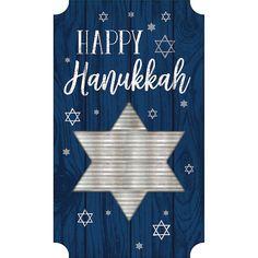 Happy Hanukkah Easel Sign 13 wide x 23 Halloween Costume Shop, Halloween Kids, Party Kit, Party Shop, All Themes, Party Themes, Happy Hanukkah, Hanukkah 2019, Hanukkah Decorations