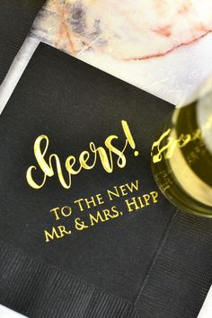 Personalized napkins for 3 – layer weddings Napkins for wedding reception – Everything About Appetizers Personalized Cocktail Napkins, Wedding Cocktail Napkins, Wedding Signature Drinks, Personalized Wedding, Wedding Catering, Wedding Reception, Cake Table Decorations, Wedding Appetizers, Napkins Set