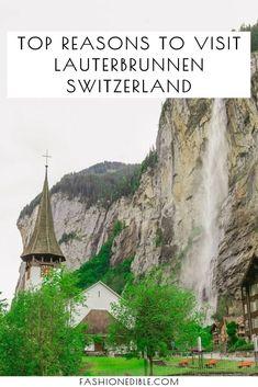 Lauterbrunnen Switzerland travel guide   visiting Lauterbrunnen   Lauterbrunnen Valley   where to stay in Lauterbrunnen Switzerland  