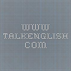 www.talkenglish.com