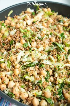 Kaszotto z młodą kapustą » Jadłonomia · wegańskie przepisy nie tylko dla wegan