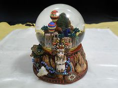 New Mexico Scenic Musical Snow/Water Globe