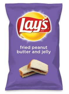 Wouldn't fried peanut butter and jelly be yummy as a chip? Lay's Do Us A Flavor is back, and the search is on for the yummiest chip idea. Create one using your favorite flavors from around the country and you could win $1 million! https://www.dousaflavor.com See Rules.