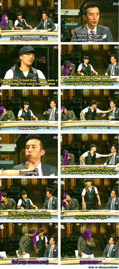 Seungri and Daesung as YG and GD | allkpop Meme Center