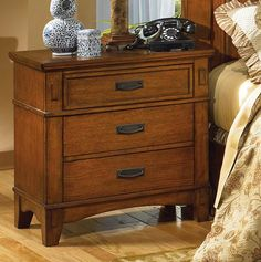 Cross Island Night Stand by Ashley Furniture