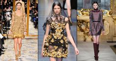 Going for Baroque: ornate clothing brings drama back to fashion