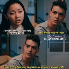 Film Quotes, Book Quotes, Series Movies, Movies And Tv Shows, Lara Jean, Cute Relationship Texts, Hey Love, Favorite Movie Quotes, Sofia Carson