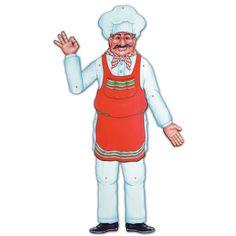 Cutout Figur Alfredo, 94cm
