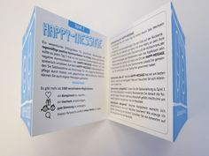 Spielanleitung Happy Message Humor, Event Ticket, Box, Messages, Personalized Items, Happy, Game Cards, Building Block Games, Humour