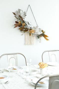 a fall wreath DIY