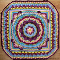 Sophie's Universe CAL 2015. One more reason I really want to learn to crochet! This is beautiful!