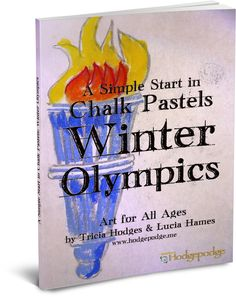 Coming soon!! A Simple Start in Chalk Pastels: Winter Olympics www.southernhodgepodge.com