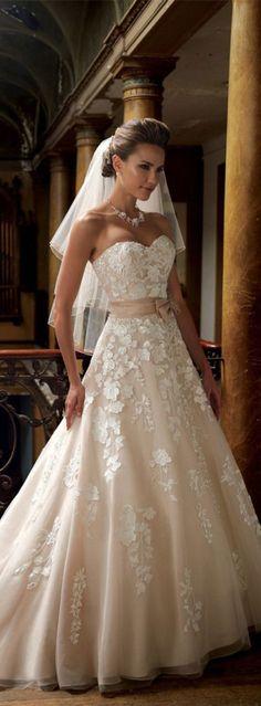 gorgeous wedding dresses #wedding #dress
