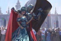 Guard by wlop (print image)