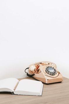 """Telefon """"746"""" in Kupfer"""