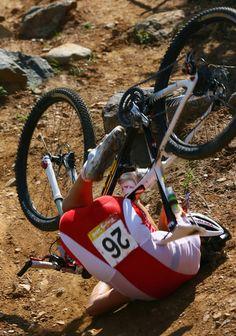 2008 Olympics Mountain Bike Crash Part 2 - Crazy Cycling Crashes - Photos