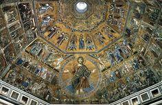 Baptistry of San Giovanni vault