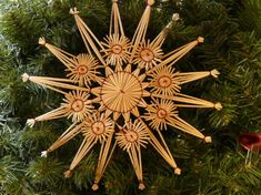 Getting Acquainted with Wheat Weaving | Gingerbread Snowflakes