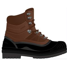 Chaussure de loisirs haute Mc Eaney 2 doublure polaire marron Taille 44